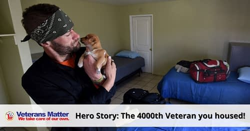 The 4000th Veteran You Housed – October 2020